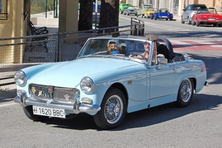 Mg midget unleaded